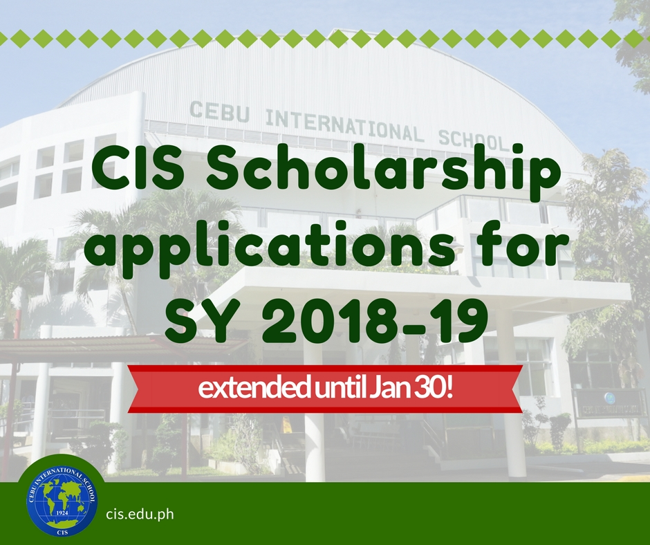 Scholarship Applications for SY 2018-19: Now Open! | Cebu